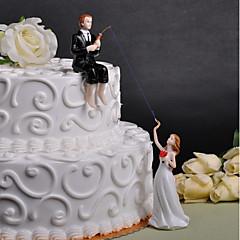 billige Kakedekorasjoner-kake topper bryllup venner plexiglas bryllupsfesten gaveeske