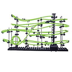 Spacerail 231-3G 13500mm 트랙 레일 자동차 트랙 세트 대리석 트랙 세트 빌딩 키트 코스터 완구 설치자 세트 교육용 장난감 컴팩터 트랙 & 멀티 터레인 로더 장난감 야광 DIY 아동 Teen 조각