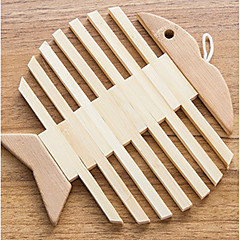 Faux Wood Cute Style Coaster Favors-1 Piece/Set Family