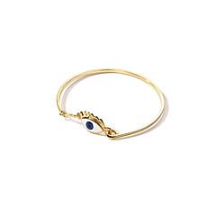 billige Fine smykker-Dame Det onde øje Armbånd - Mode Koreansk Det onde øje Guld Armbånd Til Daglig Stævnemøde