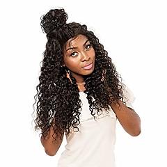 billiga Peruker och hårförlängning-Obehandlad hår 360 Fasad Peruk Brasilianskt hår Löst vågigt 360 Frontal 150% Densitet Afro-amerikansk peruk Korta Lång Dam Äkta peruker