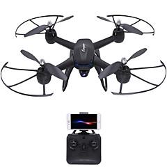 RC Drone DM107S 4 Kanaler 6 Akse 2.4G Med 0.3MP HD-kamera Fjernstyrt quadkopter Høyde Holding WIFI FPV Wide Angle Camera LED-belysning En