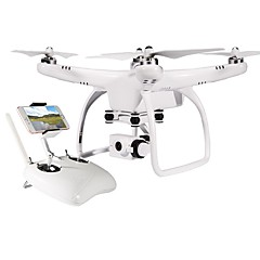 billige Fjernstyrte quadcoptere og multirotorer-RC Drone JJRC Up Air One 4 Kanal 2.4G Med 12MP HD-kamera Fjernstyrt quadkopter Fremover bakover Wide Angle Camera En Tast For Retur Sveve