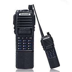 billige Walkie-talkies-BAOFENG UV-82 Håndholdt 5-10 km 5-10 km Walkie Talkie Toveis radio