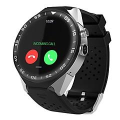 tanie Inteligentne zegarki-KING WEAR Inteligentny zegarek Android 2G Wodoodporny Pulsometry Kontrola APP Wideo Krokomierze Czasomierze Stoper Krokomierz Rejestrator aktywności fizycznej Rejestrator snu / siedzący Przypomnienie