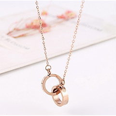 cheap Necklaces-Women's Choker Necklace Pendant Necklace - Heart Geometric Gold Necklace For Daily Going out Street Date