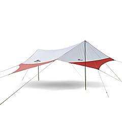 billige Telt og ly-3-4 personer Lytelt Enkelt camping Tent Ett Rom Automatisk Telt Vandring til Camping & Fjellvandring >3000 mm Terylene - 400*350 CM
