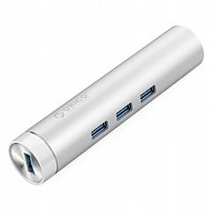 billige USB Hubs & Kontakter-ORICO 4 USB Hub USB 3.0 USB 3.0 RJ45 Højhastighed med Ethernet Data Hub
