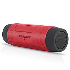 Zealot S1 Bluetooth-højttaler Bluetooth 4.0 Usb Højtalere Til Udendørsbrug Chokolade Grå Blå Mørkerød Mørkegrøn