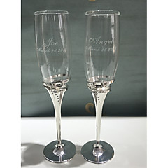 cheap Toasting Flutes-Glass Zinc Alloy Toasting Flutes Gift Box Wedding All Seasons