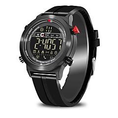 tanie Inteligentne zegarki-Inteligentny zegarek JEISO na Android 4.3 / iOS 7 Spalone kalorie / Współpracuje z iOS i system Android. / Krokomierze / Powiadamianie o wiadomości / Powiadamianie o połączeniu telefonicznym Stoper