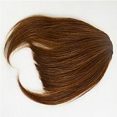 cheap Wigs & Hair Pieces-Black Medium Brown Bangs Fringe Thick 0.25kg Remy Hair Piece Hair Extension Thick