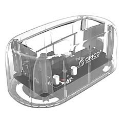 tanie Obudowy na dysk twardy-ORICO Obudowa dysku twardego PC (poliwęglan) USB 3.0 ORICO 6139C3-CR