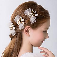 Křišťál   Napodobenina perel Květiny   Spona do vlasů   Vlasy Claws s Mašle    Roztroušené korálky s květinovým motivem 3 Svatební   Večírek Přílba 7c4e840d60