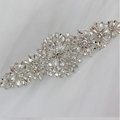 cheap -Bridal crystal rhinestone wedding dress bead flowers