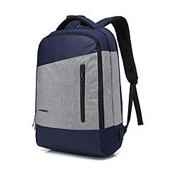 tanie Torby na laptopa-15.6 calowy laptop szwy wodoodporna tkanina nylonowa z portem ładowania USB plecak do laptopa macbook / dell / hp / lenovo / sony / acer /
