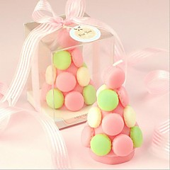 Party supplies wedding birthday present creative birthday candle macaron tower candle