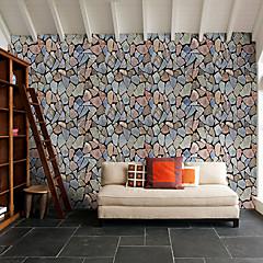 billige Tapet-Stein Hjem Dekor Moderne Tapetsering, PVC Materiale Selvklebende bakgrunns, Tapet