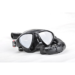 baratos -Máscaras de mergulho Snorkels Kit para Snorkel Portátil Mergulho Snorkeling YON SUB
