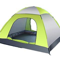 billige Telt og ly-3-4 personer Camping Pute Telt Strandtelt Enkelt camping Tent Ett Rom Automatisk Telt Regn-sikker Anvendelig Reise Enkel å installere til
