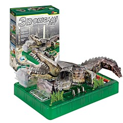 billige Puslespill i tre-Puslespill Modellsett Klassisk Tema Krokodillemønster Focus Toy Barne Voksne Gave