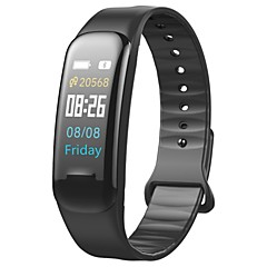 cheap Smartwatches-YY-C1plus for Android 4.4 / iOS Blood Pressure Measurement / Calories Burned / Pedometers / Anti-lost / APP Control Pulse Tracker / Pedometer / Call Reminder / Activity Tracker / Sleep Tracker