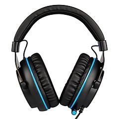 billiga Headsets och hörlurar-SADES R3 Headband Kabel Hörlurar Dynamisk Plast Spel Hörlur mikrofon / Med volymkontroll headset