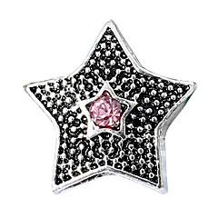 billige Perler og smykkemaking-DIY Smykker 10 stk Perler Strass Legering Lilla Perle Rosa Rød Lyseblå Marineblå Stjerne Perlene 0.45 cm DIY Halskjeder Armbånd