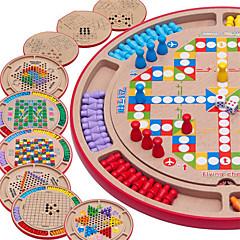 Χαμηλού Κόστους Παιχνίδια Σκάκι-Παιχνίδι σκάκι Οικογένεια Πρακτικός Σχεδιασμός Αλληλεπίδραση γονέα-παιδιού Ξύλινος Παιδικά Αγορίστικα Κοριτσίστικα Παιχνίδια Δώρο
