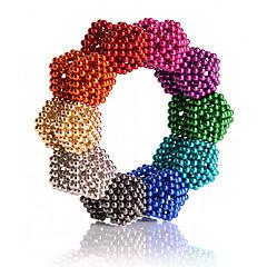 abordables Juguetes de Construcción-Juguetes Magnéticos Imanes magnéticos superfuertes Imán de Neodimio Bolas magnéticas 216 Piezas 5mm Juguetes Metal Clásico Magnética