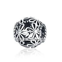 billige Perler og smykkemaking-DIY Smykker 1 stk Perler Sølv Sølv Ball Perlene 1.1 cm DIY Halskjeder Armbånd