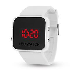 tanie Inteligentne zegarki-yy l8008 mirror jelly elektroniczna bransoletka smartwatch mężczyzna kobieta dorywczo uczeń dziecko automatyczny zegar cyfrowy