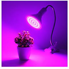 Χαμηλού Κόστους Φωτιστικά LED-1pc 25W 1700lm E26 / E27 Λαμπτήρας που μεγαλώνει 260 LED χάντρες SMD 5730 Διακοσμητικό Μπλε Κόκκινο 85-265V
