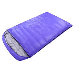 billiga Sovsäckar, madrasser och liggunderlag-Shamocamel® Sovsäck Utomhus Dubbel -10~-25°C Dubbelbredd Dun Bomull Håller värmen Förstoringar för Camping