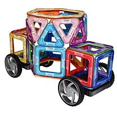tanie Klocki magnetyczne-Blok magnetyczny Klocki 63pcs Samochód Magnetyczne Ręcznie wykonane Chic & Modern Tradycyjny Klasyczny styl Dla dziewczynek Dla chłopców