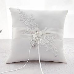 ieftine Ceremonia Nunții-Satin Pernuță inel Nuntă Toate Sezoanele
