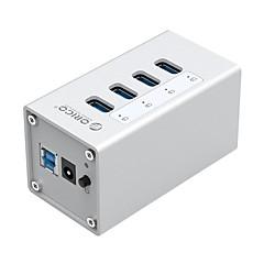 billige USB Hubs & Kontakter-ORICO 7 USB Hub USB 3.0 USB 3.0 Højhastighed Datalagring Indgangsbeskyttelse Overbelastningsbeskyttelse Data Hub