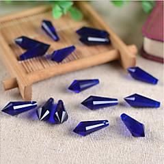 baratos Miçangas & Fabricação de Bijuterias-Jóias DIY 10 pçs Contas Vidro Roxo Rosa cor de Rosa Marron Verde Azul Claro Gotas Bead 0.8 cm faça você mesmo Colar Pulseiras