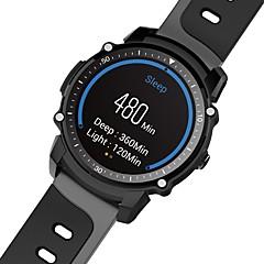 tanie Inteligentne zegarki-YY-FS08 na Android 4.0 / iOS Krokomierze / Kompas / Powiadamianie o wiadomości / Powiadamianie o połączeniu telefonicznym / Kontrola APP Pulsometr / Stoper / Krokomierz / Powiadamianie o połączeniu