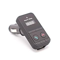 ieftine Transmițător FM de Mașină/MP3 Players-301e încărcător de mașină wireless bluetooth fm emițător modulator hands free auto kit mp3 audio player lcd display for iphone android