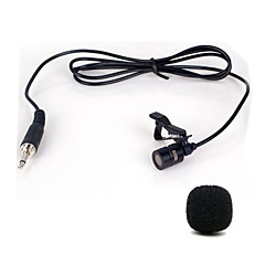 cheap Microphones-Mini Portable Clip-on Lapel Lavalier Hands-free 3.5mm Jack Condenser Wired Microphone Mic