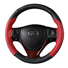 billige Rattovertrekk til bilen-bilstertrekkdeksler (lær) for toyota 2014 2015 2016 rav4