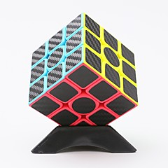 cheap -Magic Cube IQ Cube z-cube Carbon Fiber Stone Cube 3*3*3 Smooth Speed Cube Magic Cube Puzzle Cube Stress and Anxiety Relief Office Desk Toys Relieves ADD, ADHD, Anxiety, Autism Classic Kid's Toy