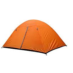 billige Telt og ly-2 personer Telt Dobbelt camping Tent Ett Rom Brette Telt Hold Varm Fukt-sikker Velventilert Vanntett Vindtett Ultraviolet Motstandsdyktig