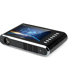 cheap Projectors-Factory OEM P6 PLUS DLP Business Projector 1000 lm Android6.0 Support 1080P (1920x1080) 30-300 inch Screen
