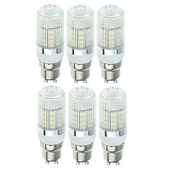 SENCART 6szt 5W 900lm E14 / G9 / GU10 Żarówki LED kukurydza T 40 Koraliki LED SMD 5730 Dekoracyjna Ciepła biel / Zimna biel 220-240V /
