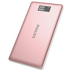 billige Eksterne batterier-10000mAh strømbank eksternt batteri 5 Batterilader QC 2.0 LED