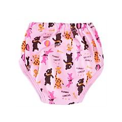 billige Undertøj og sokker til piger-Unisex Undertøj Dyretryk, Bomuld Forår Efterår Sødt Elastisk Blå Lyserød Gul Regnbue