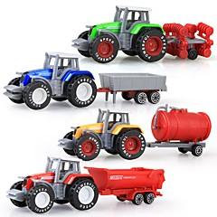 Χαμηλού Κόστους Toy Trucks & Τεχνικά Οχήματα-Φορτηγό Αγροτικό όχημα Ανατρεπόμενο φορτηγό Παιχνίδια φορτηγά και κατασκευαστικά οχήματα 1:50 Πλαστικό Περίβλημα 4 pcs Παιδικά Αγορίστικα Κοριτσίστικα Παιχνίδια Δώρο