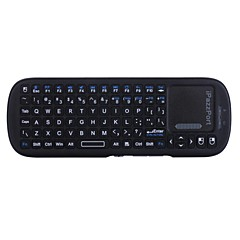 billige TV-bokser-ipazzport ipazzport 2.4G mini keyboard KP-810-19S-RU Air Mouse 2,4 GHz trådløs Android Annet Windows OS X Linux XP Vista WIN7 WIN8 Mac